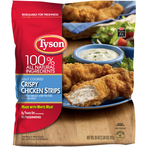 Save $1.00 off ONE (1) Tyson Crispy Chicken Strips
