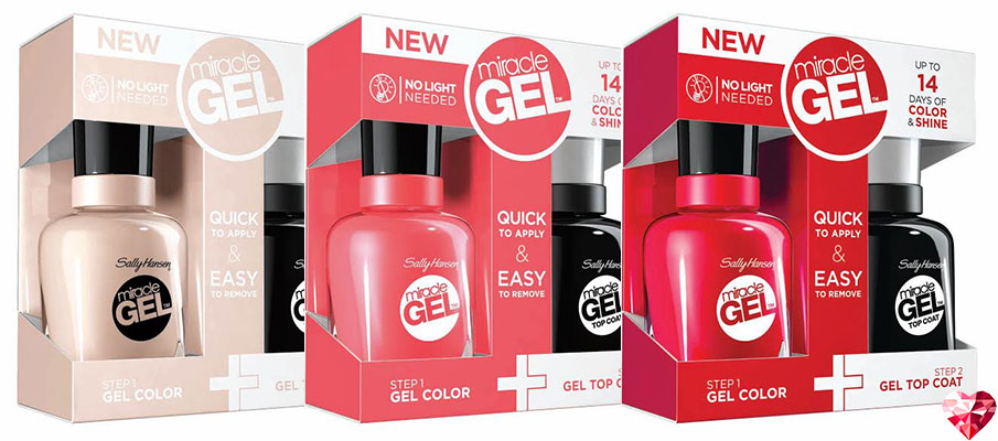 New Coupon - $2 00 Off Any (1) Sally Hansen Miracle Gel Nail